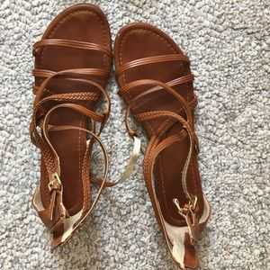 Report strappy sandals